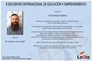 Antonio Reina Ficha Educando Para Emprender 2015