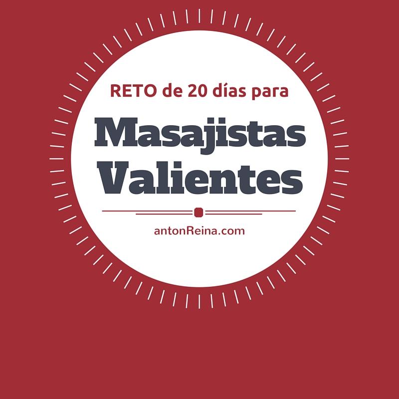 Reto de 20 Días para Masajistas Valientes