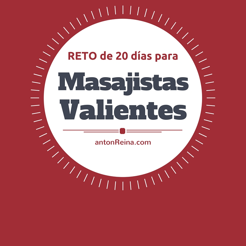 Reto de Febrero 2016 para Masajistas Valientes